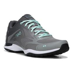 Women's Ryka Grafik 2 Training Sneaker Iron Grey/Frost Grey/Yucca Mint