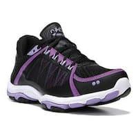 Women's Ryka Influence 2.5 Training Sneaker Black/Sugar Plum/Purple Ice