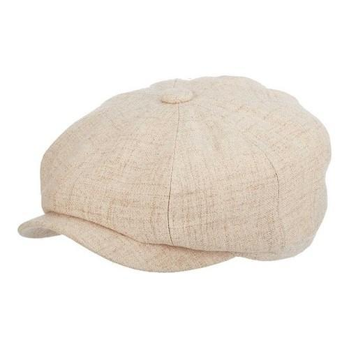 207f949129a1d Shop Men s Stetson STC304 Textured Newsboy Cap Tan - Free Shipping On  Orders Over  45 - Overstock - 18821996