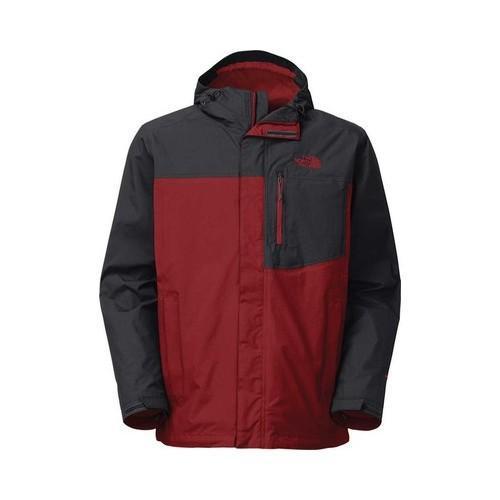 d95ed772f Men's The North Face Atlas Triclimate Jacket Cardinal Red/Asphalt Grey
