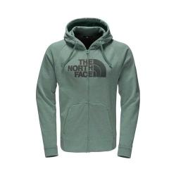Men's The North Face Avalon Half Dome Full Zip Hoodie Silver Pine Green Heather/Darkest Spruce