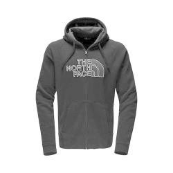 Men's The North Face Avalon Half Dome Full Zip Hoodie TNF Black/Asphalt Grey