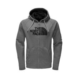 Men's The North Face Avalon Half Dome Full Zip Hoodie TNF Medium Grey Heather/TNF Black Stripe