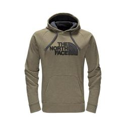 Men's The North Face Avalon Half Dome Hoodie Burnt Olive Green Heather/Asphalt Grey