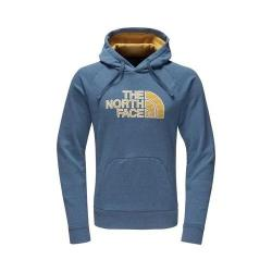 Men's The North Face Avalon Half Dome Hoodie Shady Blue Heather/Arrowwood Yellow Stripe