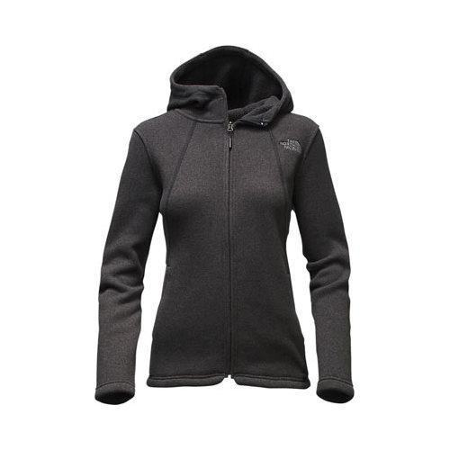 86cd9c31 Shop Women's The North Face Crescent Full Zip Hoodie TNF Black Heather -  Free Shipping Today - Overstock - 18822082