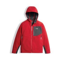 Boys' The North Face Chimborazo Hoodie TNF Red/Graphite Grey