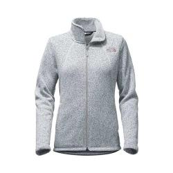 Women's The North Face Crescent Full Zip TNF Light Grey Heather