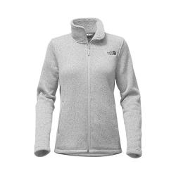 Women's The North Face Crescent Full Zip TNF Medium Grey Heather