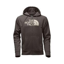 Men's The North Face Half Dome Full Zip Hoodie Falcon Brown Heather/Vintage White