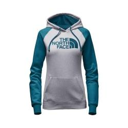 Women's The North Face Half Dome Hoodie TNF Light Grey Heather/Egyptian Blue