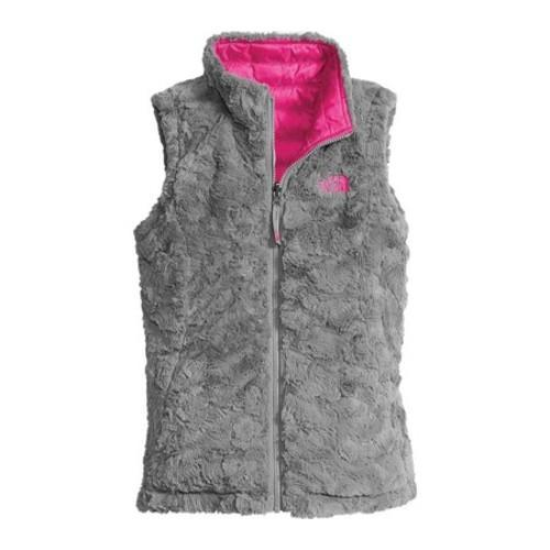7858a65b3f79 ... Thumbnail Girls  x27  The North Face Reversible Mossbud Swirl Vest  Petticoat Pink
