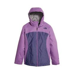 Girls' The North Face Osolita Triclimate Jacket Bellflower Purple