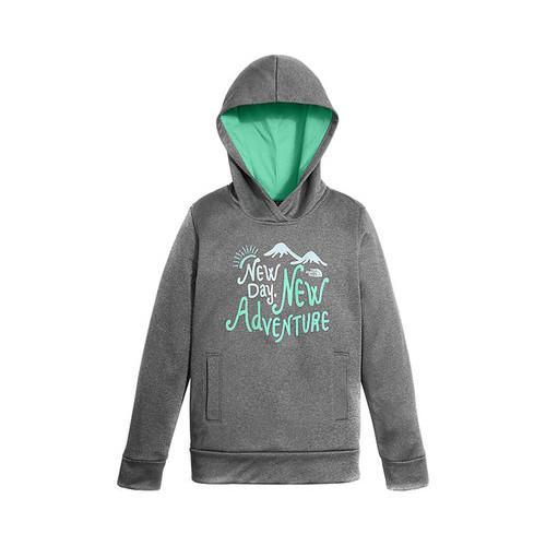 541dbd7e5 Shop Girls  The North Face Surgent Pullover Hoodie TNF Medium Grey ...
