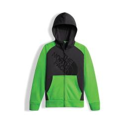 Boys' The North Face Surgent Full Zip Hoodie Graphite Grey/Krypton Green