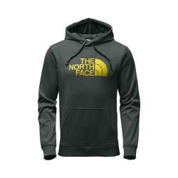 Men's The North Face Surgent Half Dome Hoodie Darkest Spruce Heather/Acid Yellow