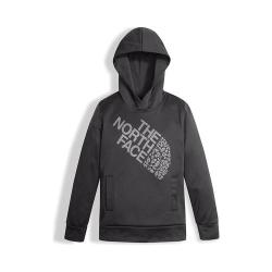 Girls' The North Face Surgent Pullover Hoodie Graphite Grey/Multi-Color