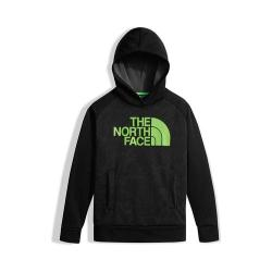 Boys' The North Face Surgent Pullover Hoodie TNF Black Topo Print