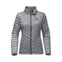 Women's The North Face ThermoBall Full Zip Jacket Mid Grey