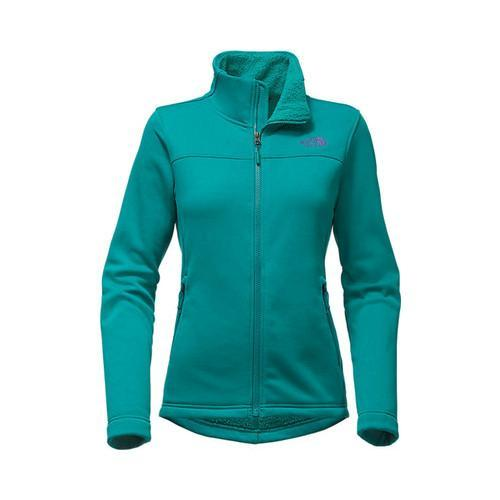 Shop Women s The North Face Timber Full Zip Jacket Harbor Blue - Free  Shipping Today - Overstock - 18822303 a09133266