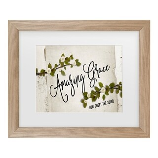 Marcee Duggar 'Amazing Grace Floral' Matted Framed Art