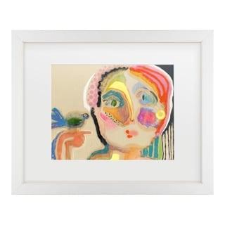 Wyanne 'The Talker' Matted Framed Art