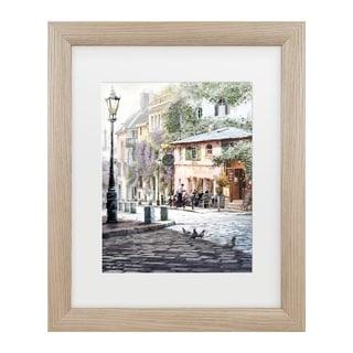 The Macneil Studio 'Sunshine Cafe' Matted Framed Art