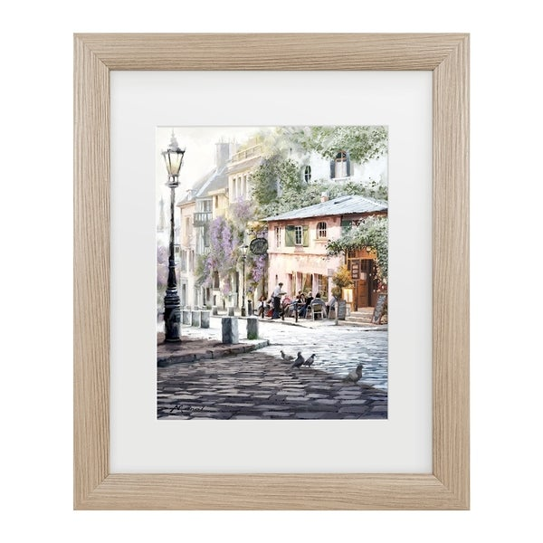 The Macneil Studio 'Sunshine Cafe' Matted Framed Art