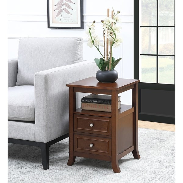 Copper Grove Aubrieta 2-drawer End Table