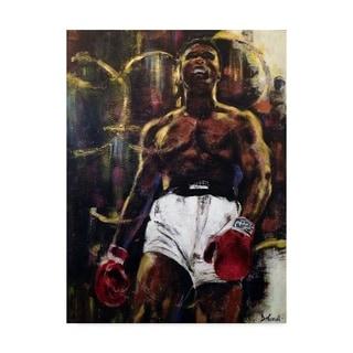 Porch & Den Gregg Degroat 'Muhammad Ali' Canvas Art