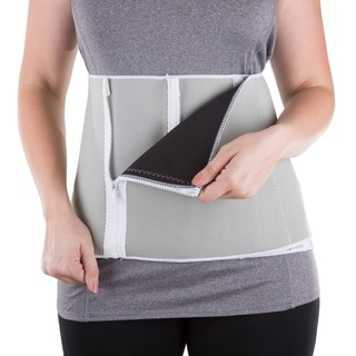 Waist Trainer Body Shaper by Bluestone, Belly Band Girdle for Weight Loss and Back Support