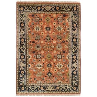 ECARPETGALLERY Hand-knotted Serapi Heritage Wool Rug