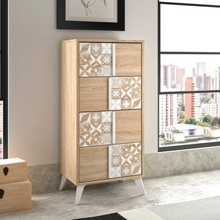 Chloe Tall Chest 4 Drawers