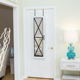 FirsTime® Barn Door Jewelry Armoire