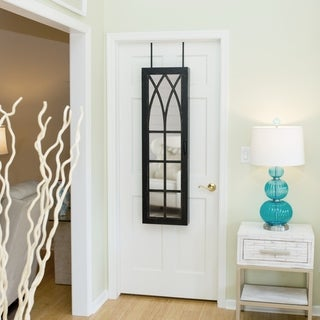 FirsTime® Black Arch Jewelry Armoire