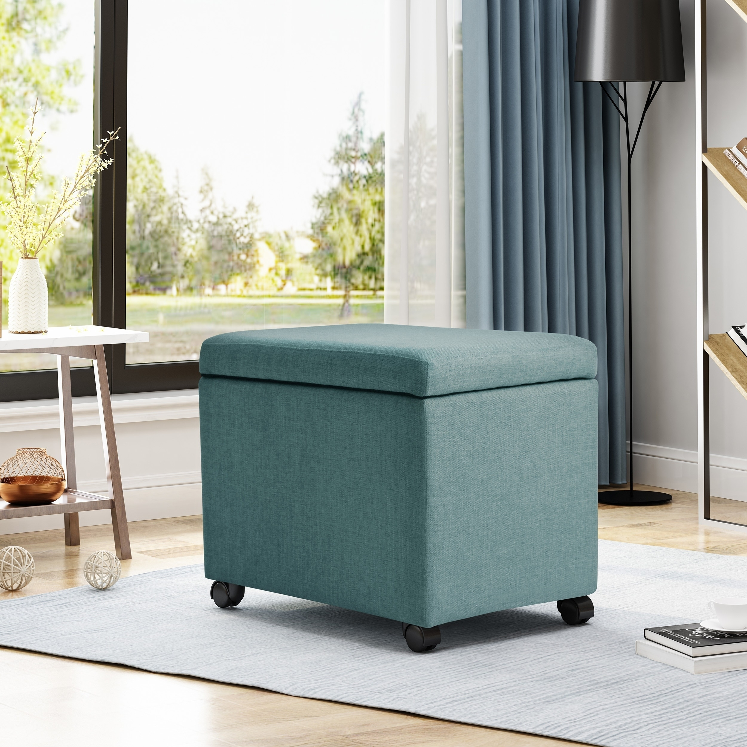 Foster Home Office File Storage Ottoman By Christopher Knight Home Overstock 21903976