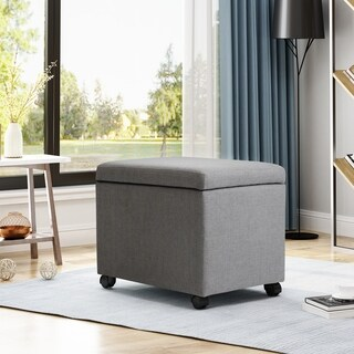 Foster Home Office File Storage Ottoman by Christopher Knight Home