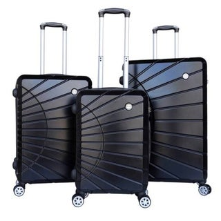 RivoLite AH-1781 Hardside Spinner Luggage Set with Lock (3-Piece)