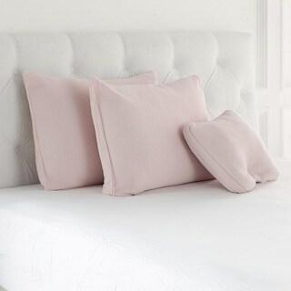 Joy Mangano S/3 Cool Side, Warm Side, Memory Foam Pillows, Blush