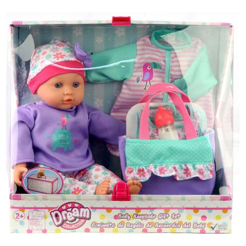 Dream Collection 14 inch Baby Doll Gift Set w/ Accessories