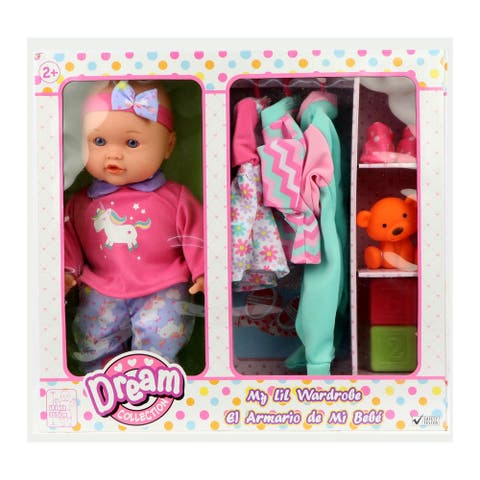"Dream Collection 14"" My LiL Wardrobe Baby Doll Set"