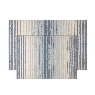 "Gradation Bath Rug 2 Piece Set 17""X24""/21""X34"""