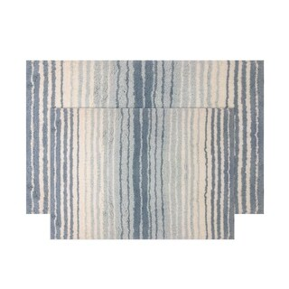 "Gradation Bath Rug 2 Pc set 17""x24"" / 21""x34"""