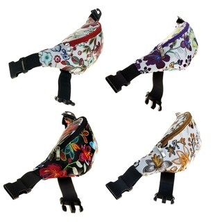 Fanny Packs in 4 Assorted Flower Prints
