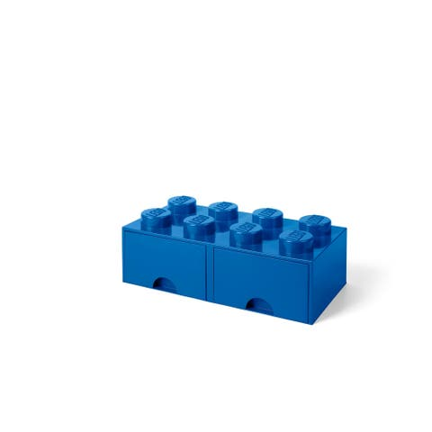 LEGO Storage Brick Drawer 8, Bright Blue