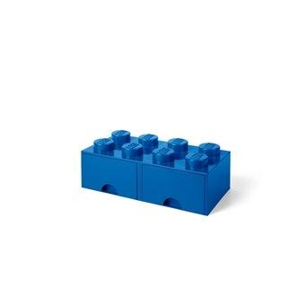 LEGO Storage Brick Drawer 8, Bright Blue