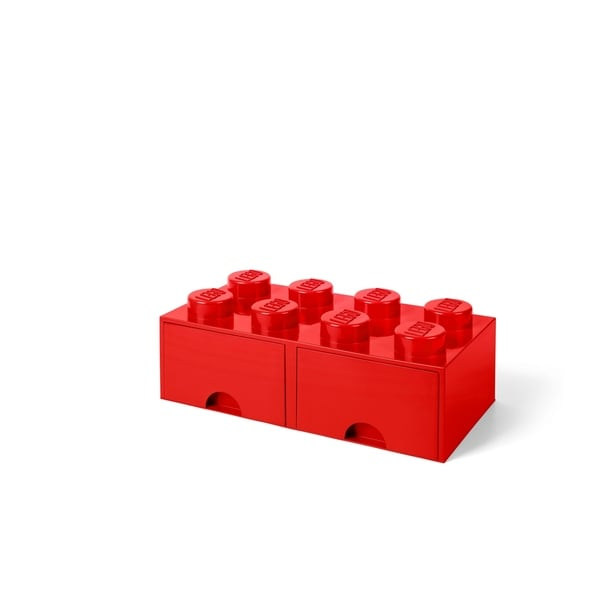 LEGO Storage Brick Drawer 8, Bright Red. Opens flyout.