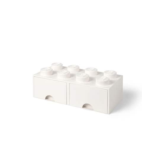 LEGO Storage Brick Drawer 8, White