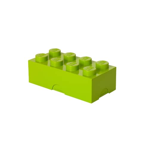 LEGO Storage Brick 8, Spr. Yellowish Green