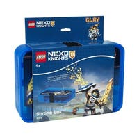 LEGO Nexo Knights Sorting Box, Transparent Blue